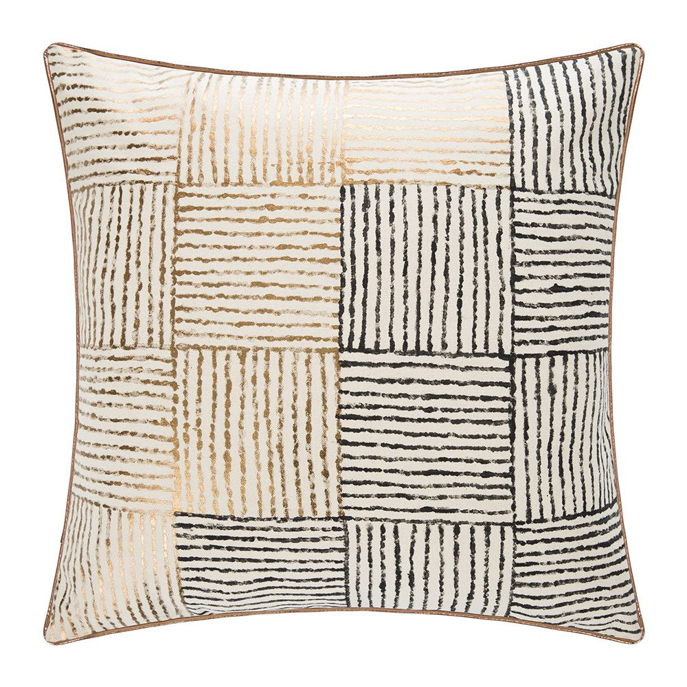 Buy A By Amara Square Stitch Cushion 50x50cm Pillows Cushions Home Accessories
