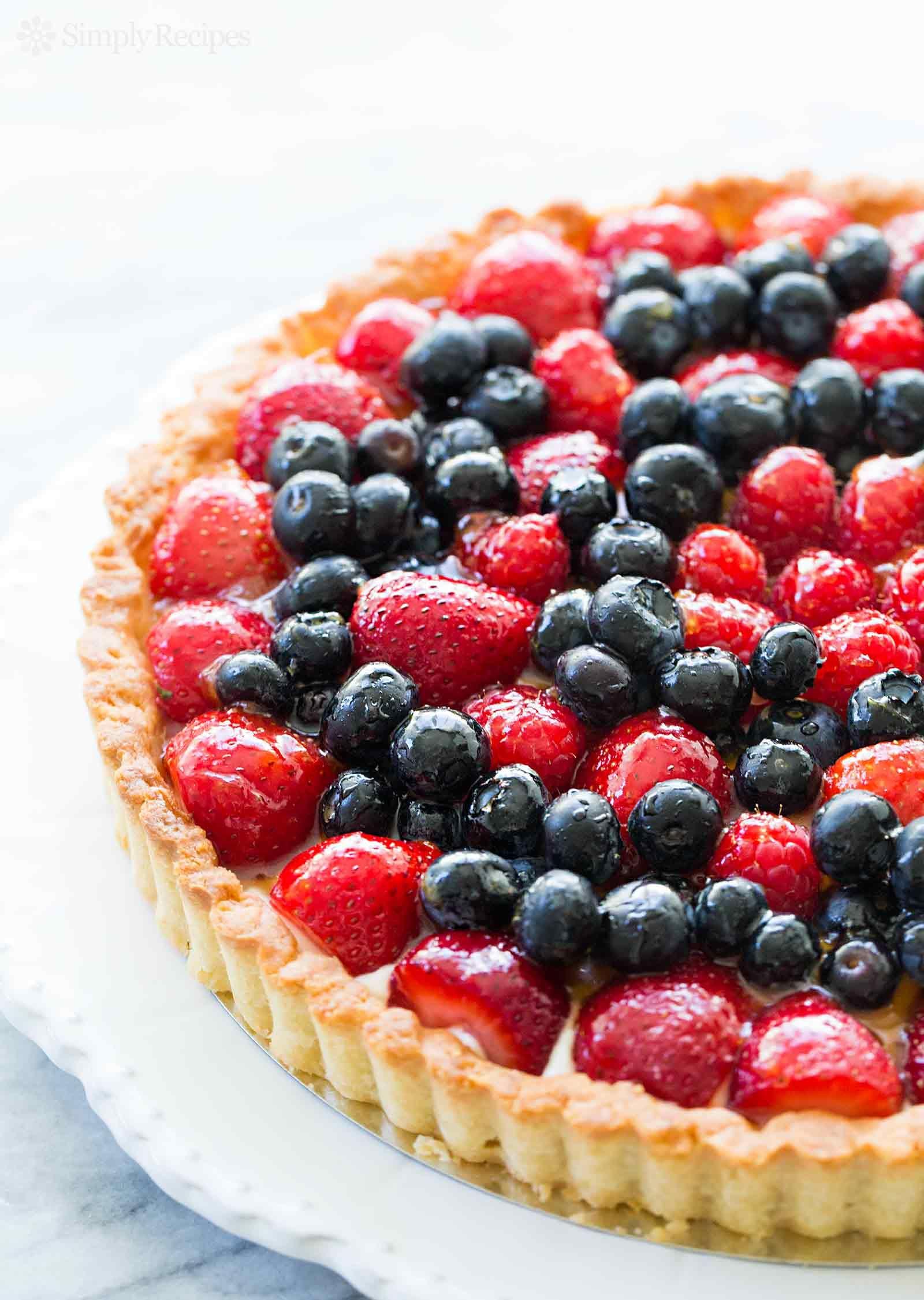 Berry Tart Recipe Fruit Tart Recipe Berry Tart Desserts