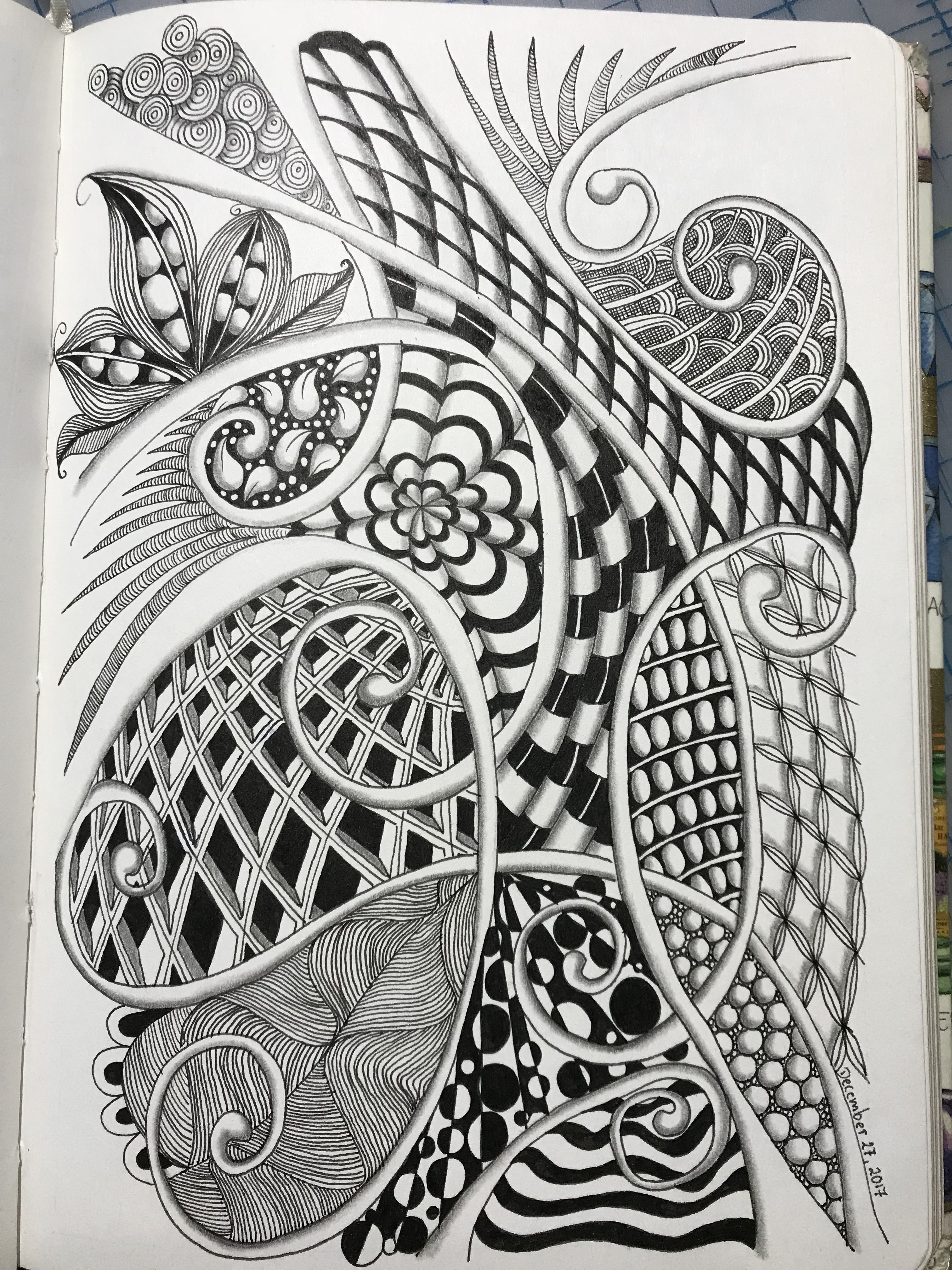 Pin By Gabriela Grasso On My Zia Works Zentangle Drawings Zen Art Drawing Prints