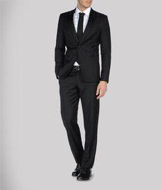 black armani suit