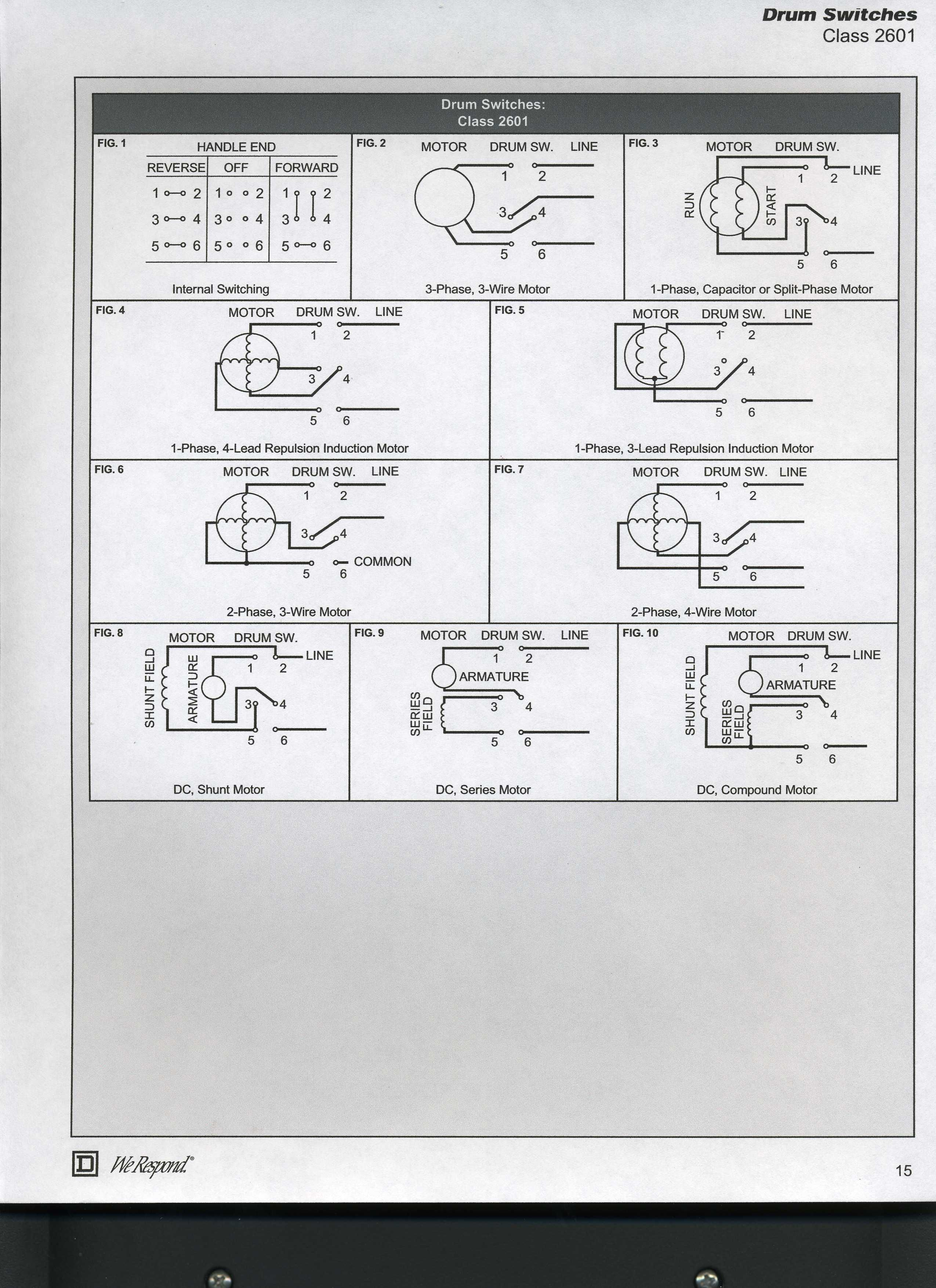 110 Volt Wiring Diagrams in 2020 Electric motor, Diagram