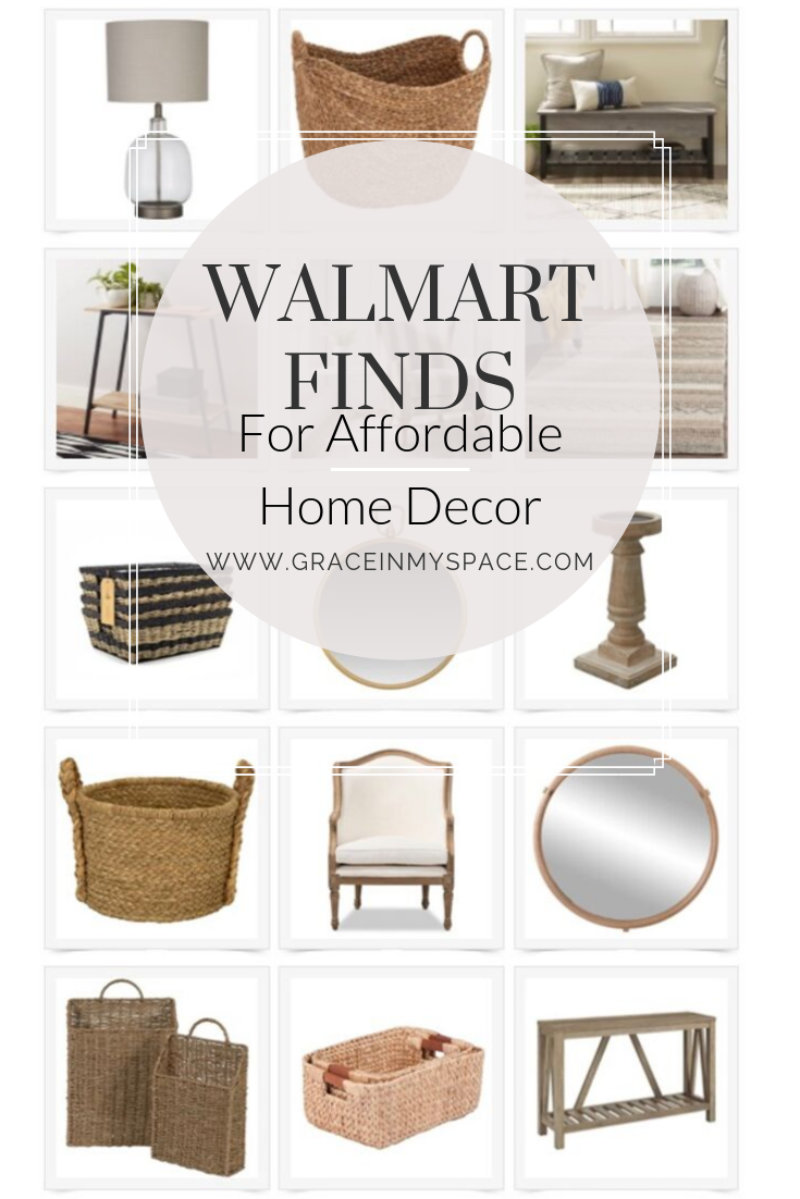 Walmart Online Shopping Has Never Been Better For The Home And Decor Enthusiast I Ve Rounded Up My Favorite Affo Walmart Home Decor Walmart Decor Walmart Home