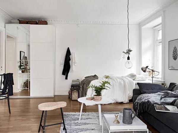 ideas-decorar-apartamento-pequeño Home/Dorm Decor Pinterest - decoracion de apartamentos pequeos