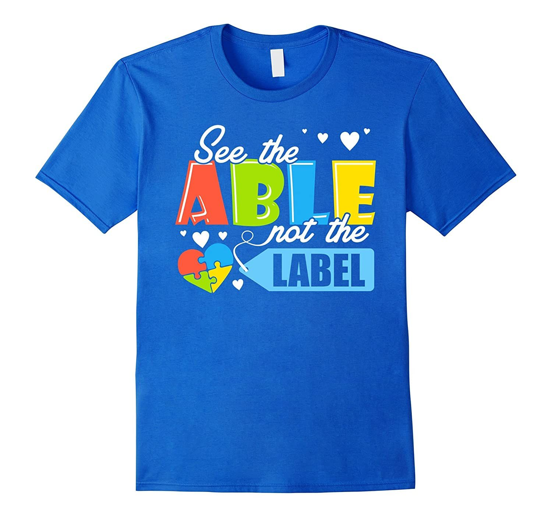 Proud Autism Mom Dad Aunt Shirt Love Autism Awareness Tee-Veotee