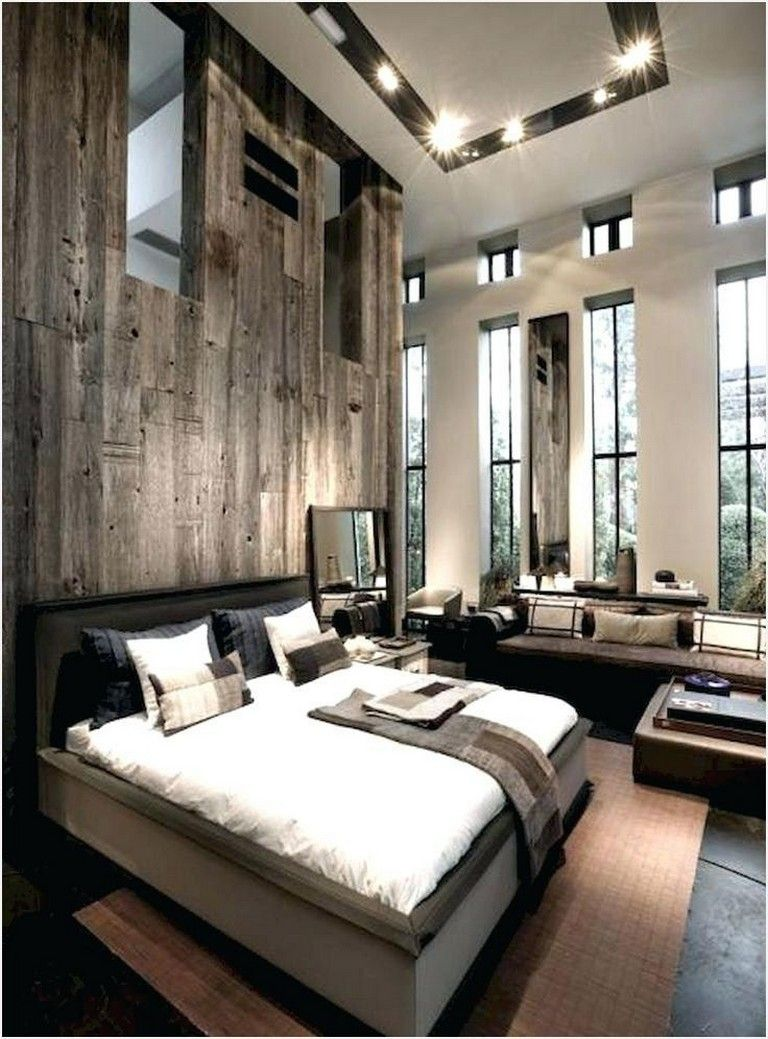 29 Marvelous Modern Rustic Master Bedroom Design Ideas You Must Try Page 7 O In 2020 Rustic Master Bedroom Design Modern Rustic Master Bedroom Rustic Master Bedroom