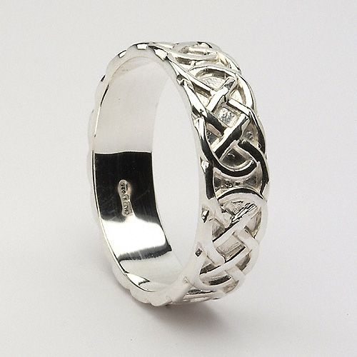 Claire Celtic Wedding Ring (C-72) - Celtic Wedding Rings