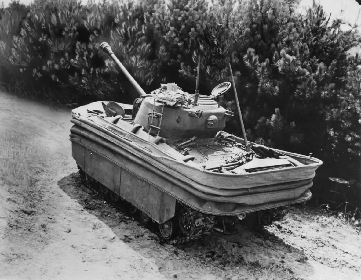 M4 Sherman DD tank Firestone Tire Company