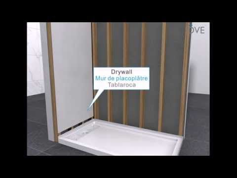 Prova Board Plus Installation Video Youtube Shower Base