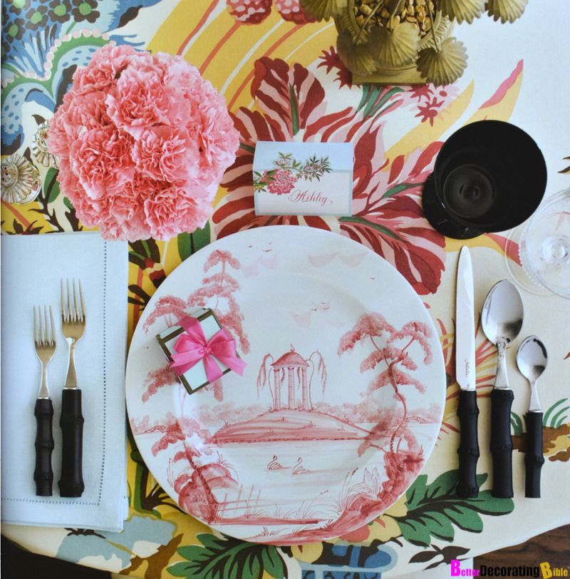 Tropical Dinner Party Set! Sexy, Chic, and Fabulous!