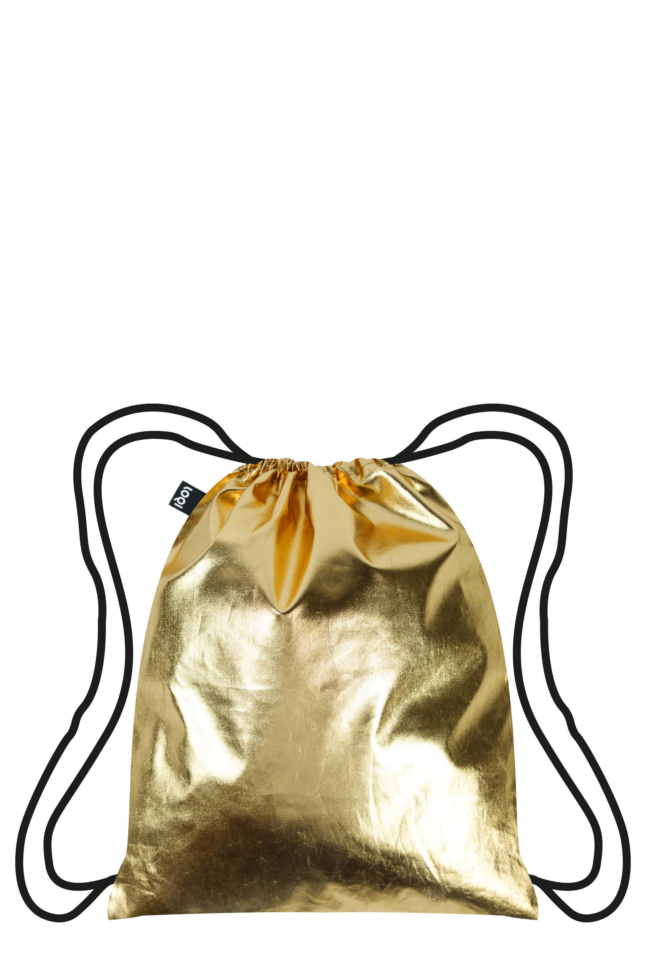 Mi-Pac Gold Rucksack 24k Gold//Silber