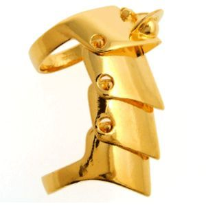 76a6f04b025 185 Vivienne Westwood Armour Ring Gold <3   Armour Ring   Vivienne ...