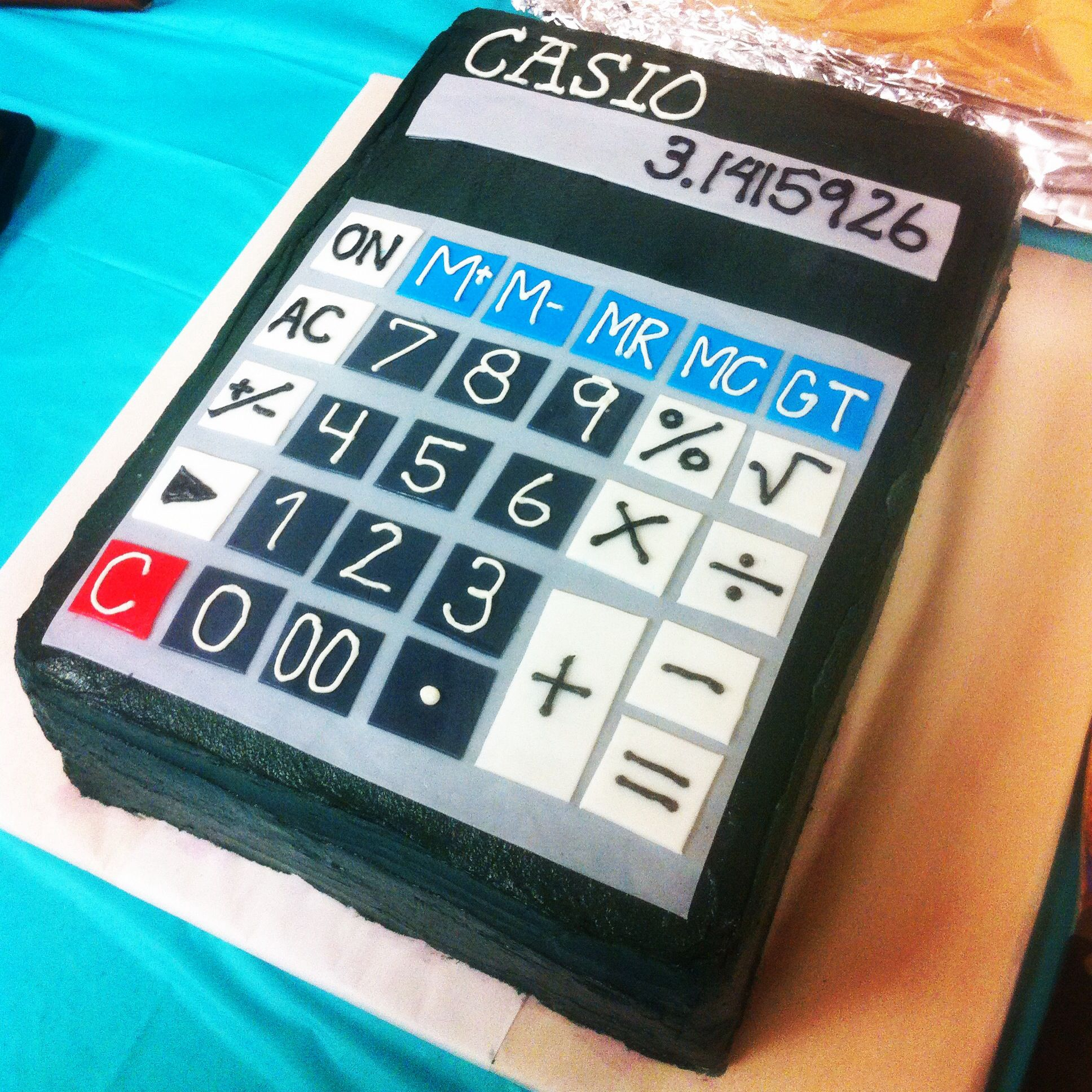My Incredible Calculator Cake