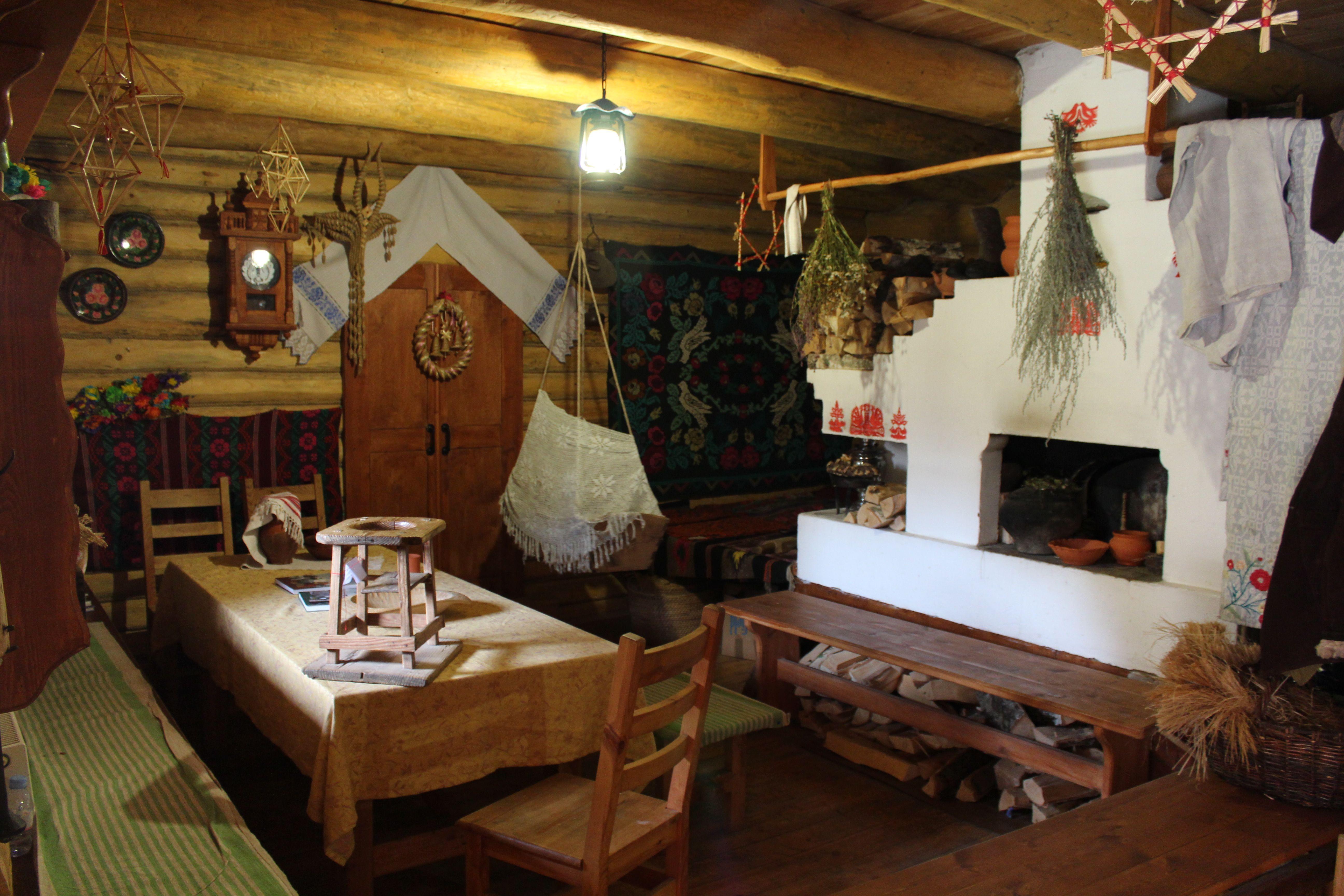Slavic ethnic home interior   Ethnic dwelling   Pinterest   Interiors