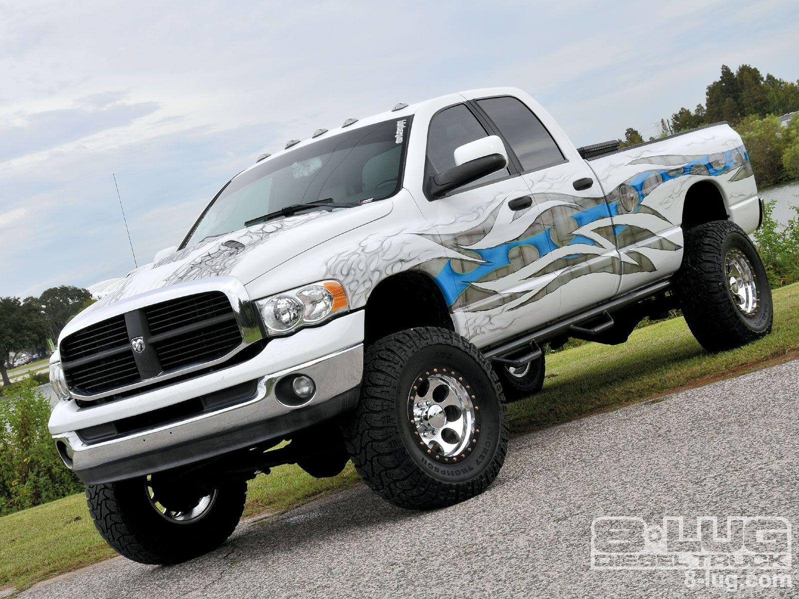 Custom Dodge Ram Trucks Slamfest 2009 Truck Show 2004