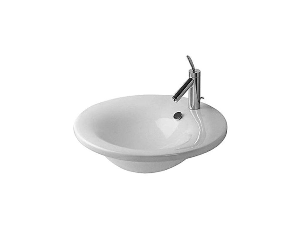 Philippe Starck Wastafel : Starck 1 lavabo sospeso tondo monoforo t4h lavabi bagno