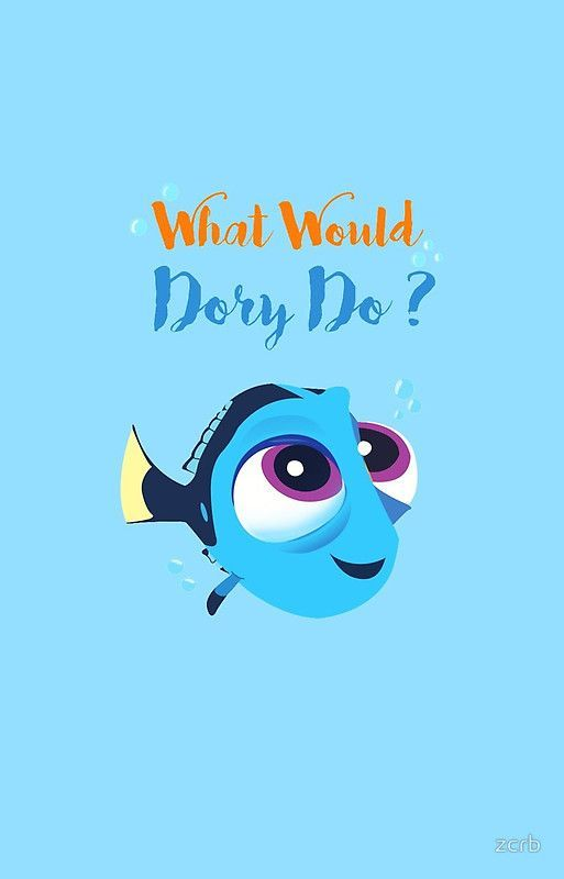What Would Baby Dory Do By Zcrb Baby Dory Disney Wallpaper Cute Disney
