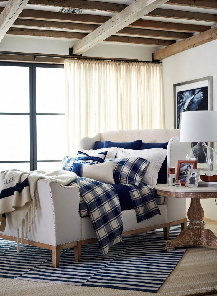 Plush and tranquil, the Winter Harbour bedding collection