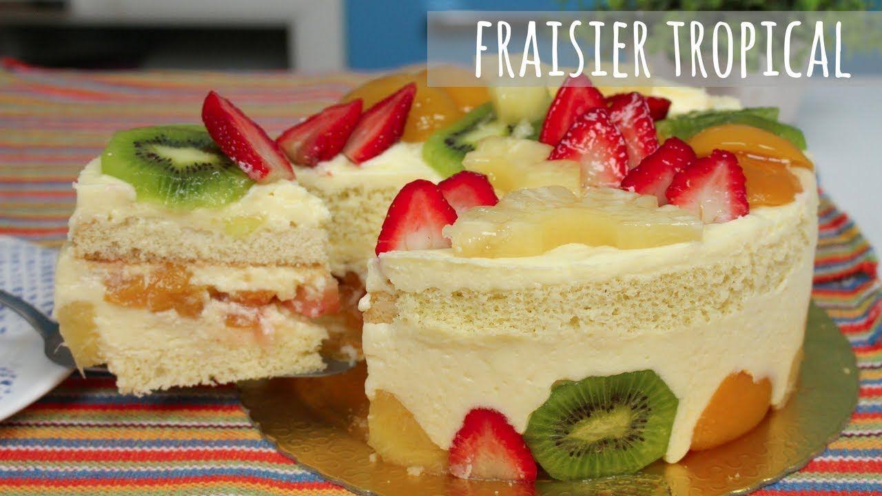 Uma Delicia Este Cake Tropical Chef Leo Oliveira Ideias