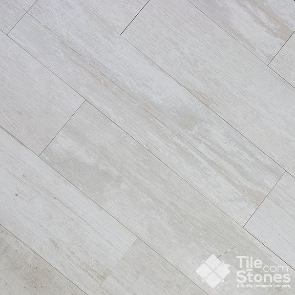 Crate Series Colonial White Wood Plank Porcelain Tile   All Bathroom Floors  And Laundry Room?