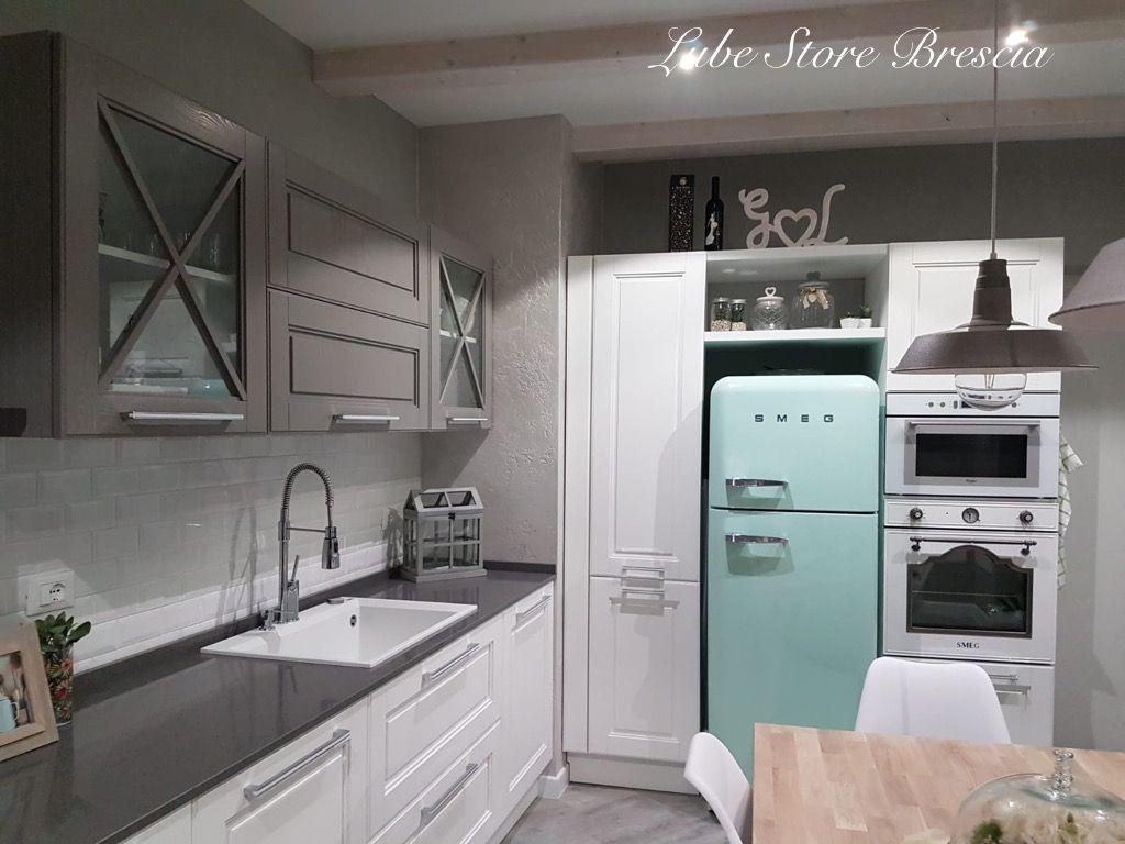 Modello #Agnese di #cucine #Lube #Brescia nei colori bianco ...