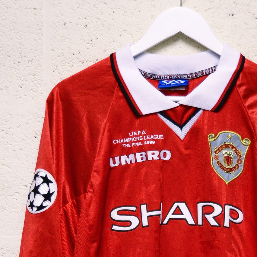 Manchester United Match Worn Champions League Final Shirt  908ed9f2a9f30