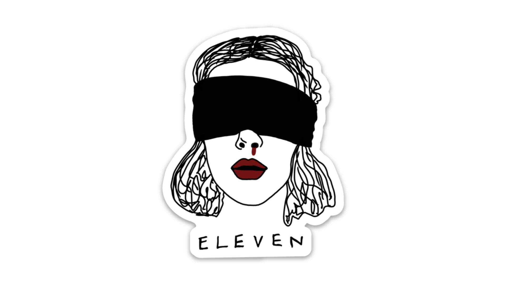 Stranger Things Eleven Sticker Pegatinas Bonitas Pegatinas Imprimibles Pegatinas Wallpaper