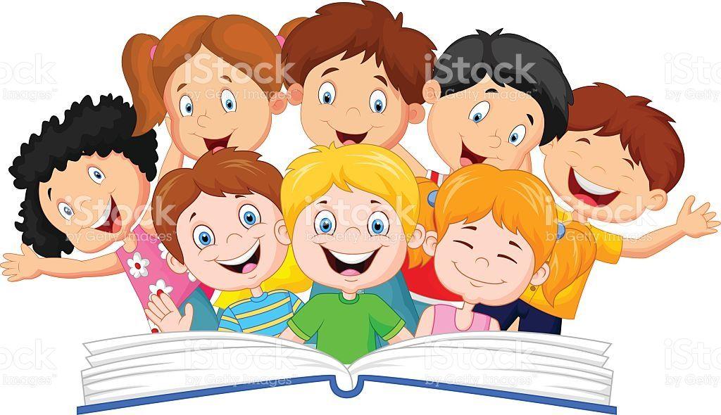 resultado de imagem para crianÇa lendo livro mural pinterest