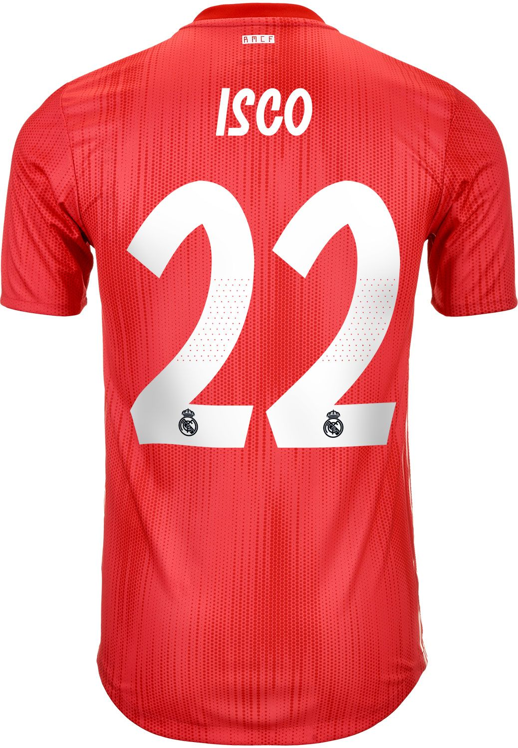 c509a8d8 2018/19 adidas Isco Real Madrid Authentic 3rd Jersey | Real Madrid ...