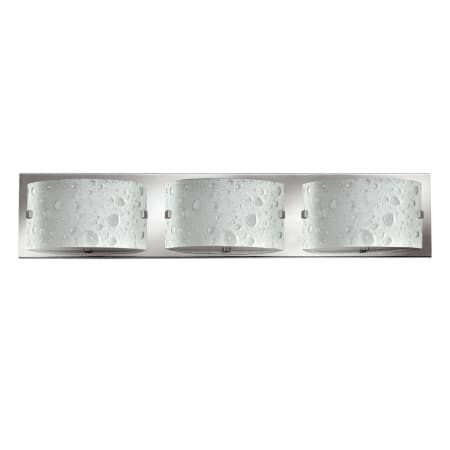 "Photo of Hinkley Lighting 5923CM Chrome 3 Light 24 ""wide ADA-compliant basin light from the Daphne collection – LightingDirect.com"