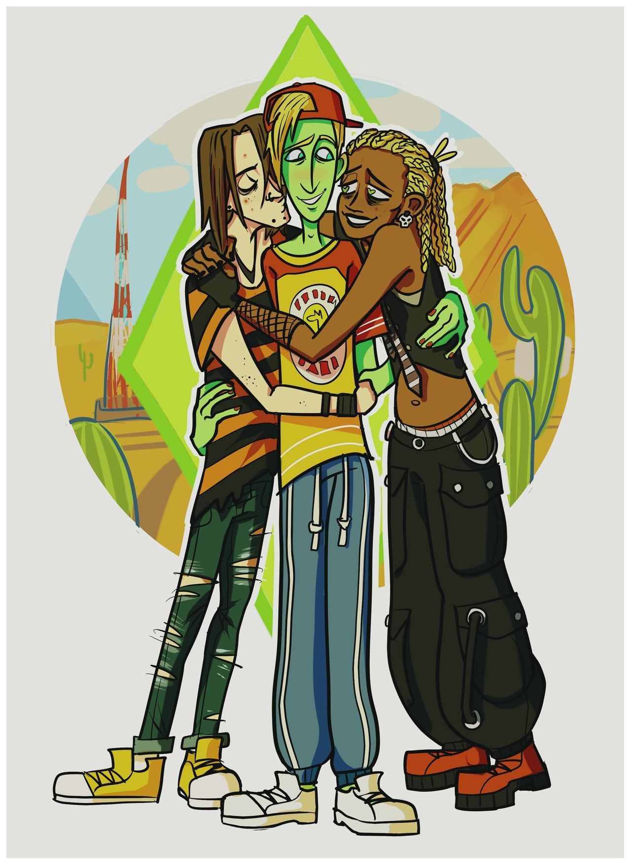 johnny/ripp/ophelia by spacemerperson on DeviantArt in