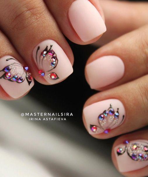 Дизайн ногтей тут Фото Видео Уроки маникюра дизайн