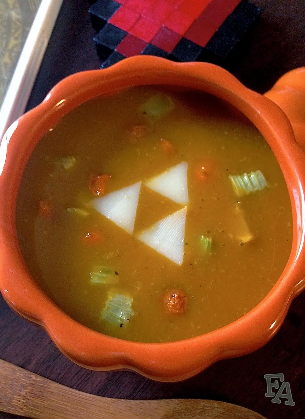 Fiction food caf pumpkin soup from the legend of zelda skyward food adventures in fiction pumpkin soup from the legend of zelda skyward sword the recipe looks easy minus the zelda cheese forumfinder Image collections