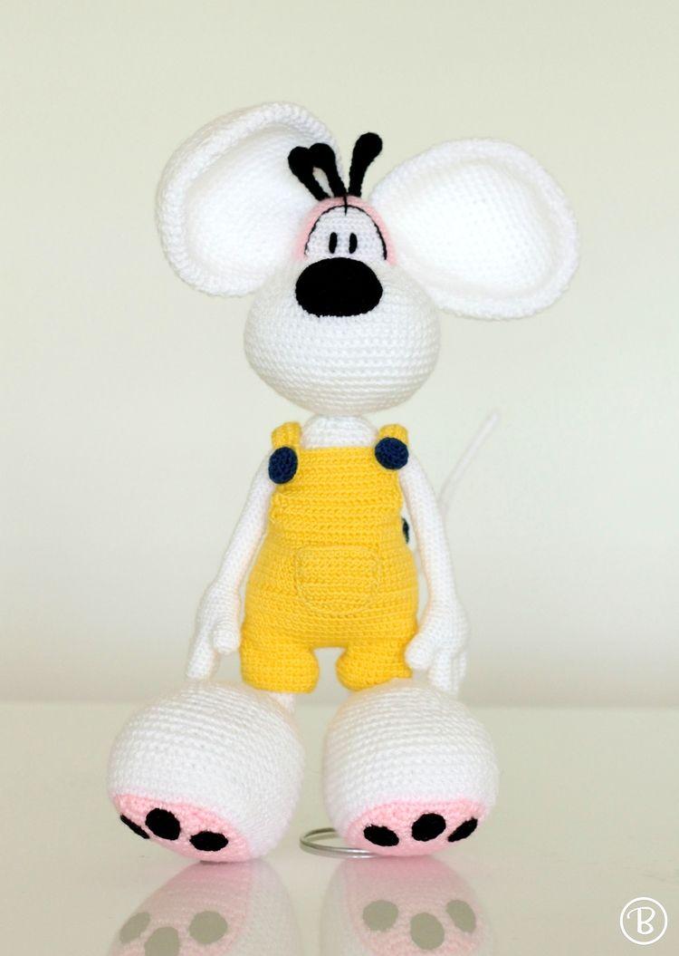 Amigurumi Diddl crochet plush