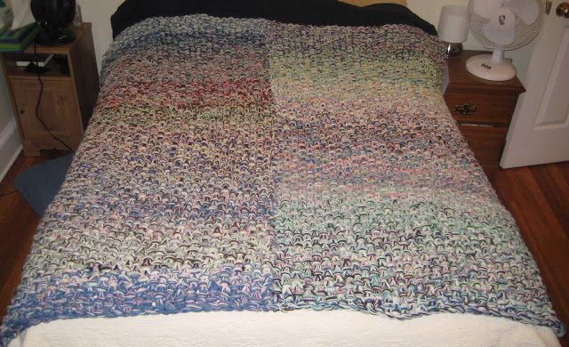 Chemknits 10 Hour Afghan Pattern My Remnant Throw Blanket