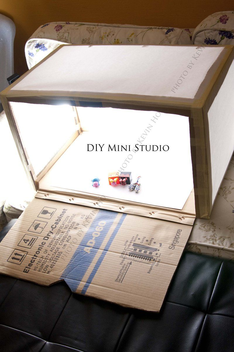Mini studio for picture taking. (For small/med stuff you
