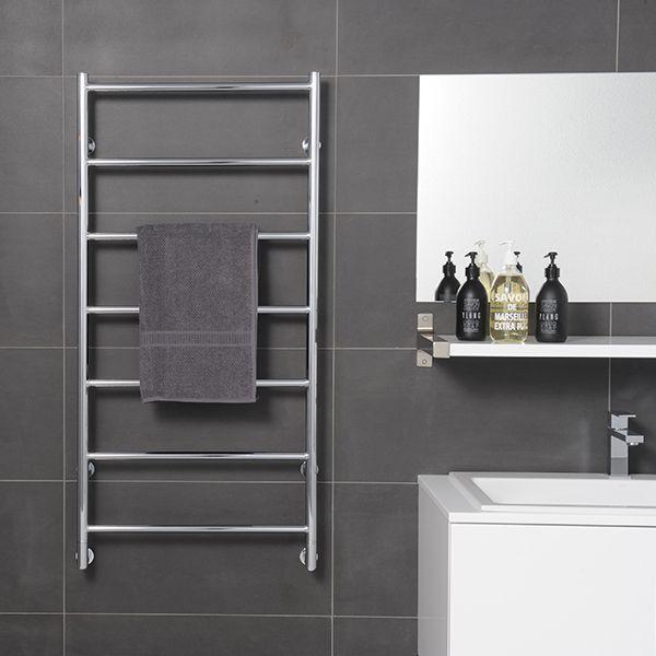 E&s Trading  Kitchen Bathroom & Laundry  Hydrotherm Tr Series Amusing Designer Heated Towel Rails For Bathrooms Design Decoration