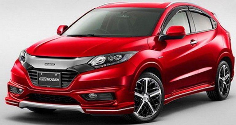 Honda Has Unveiled A Lineup Of Products Modified By Mugen Which Will Debut At The Upcoming 2016 Tokyo Auto Salon One Them Includes Vezel