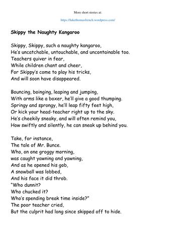 Narrative Poem Example Ks2 Years 3 4 Narrative Poem Narrative Poem Examples Poetry Examples At poemsearcher.com find thousands of poems categorized into thousands of categories. narrative poem examples poetry examples
