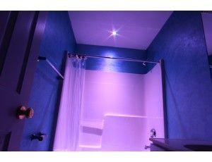 Rgb Led Downlight Waterproof Recessed Led Light W Remote 8 Watt Shower Lighting Led Bathroom Lights Shower Light Fixture