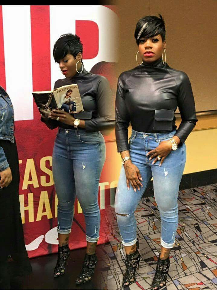 Fantasia Looking Fierce Short Hair Styles Fantasia Hairstyles Sassy Hair