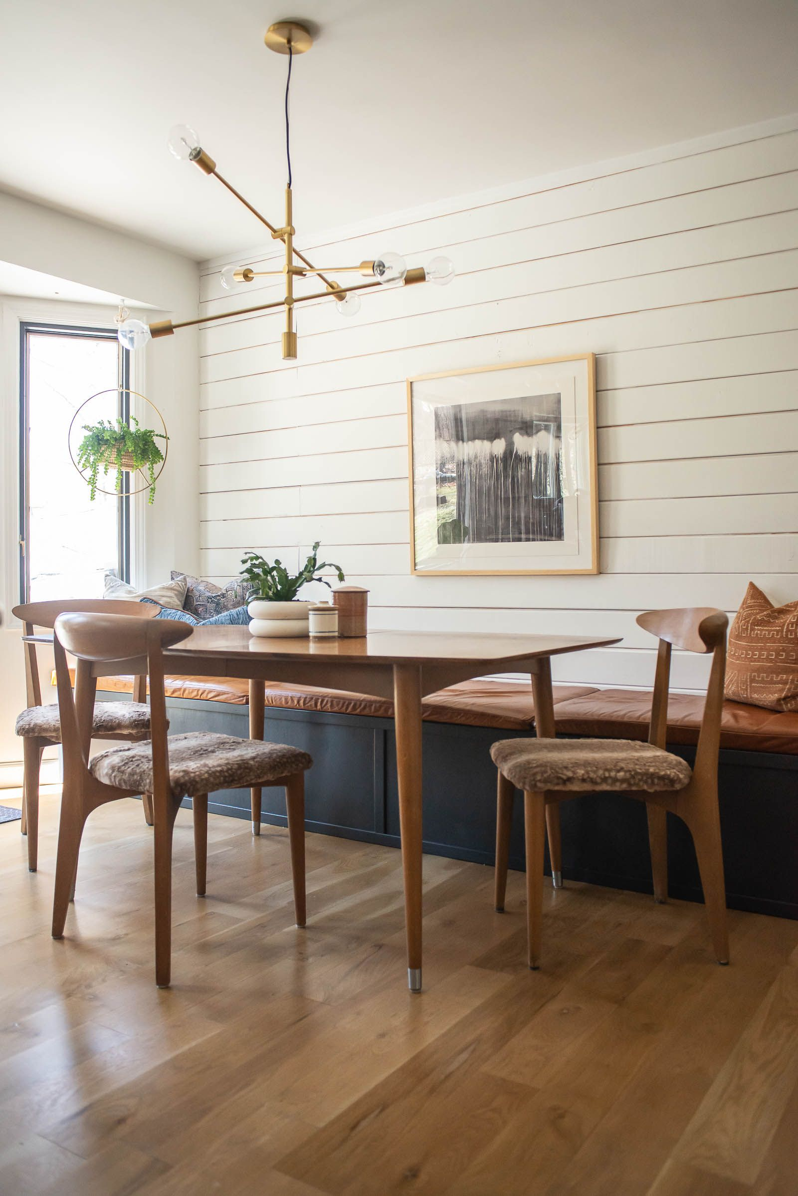 Chair Makeover Featuring How to Fix Old Chairs  Bigger Than the Three of Us is part of Chair makeover - Chair makeover featuring how to fix old chairs  Fix loose chair backs with a simple pipe clamp and transform a chair with new upholstery  howto chairs