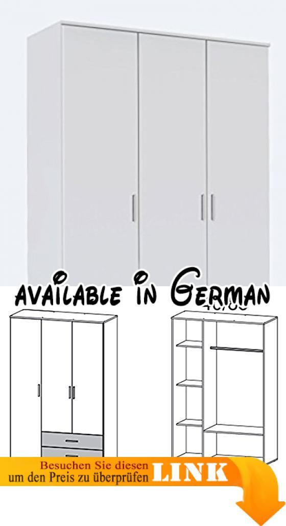 B01KNN4BVC : Kleiderschrank Schlafzimmerschrank Wäscheschrank ...