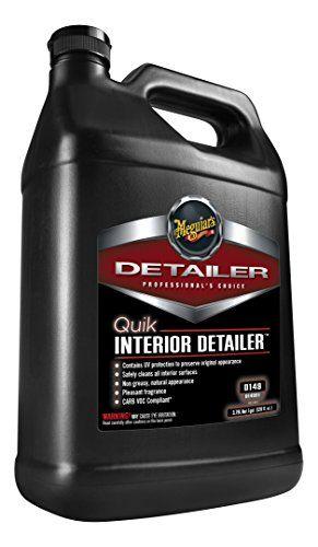 Meguiar S D14901 Quik Interior Detailer 1 Gallon Inexpensive