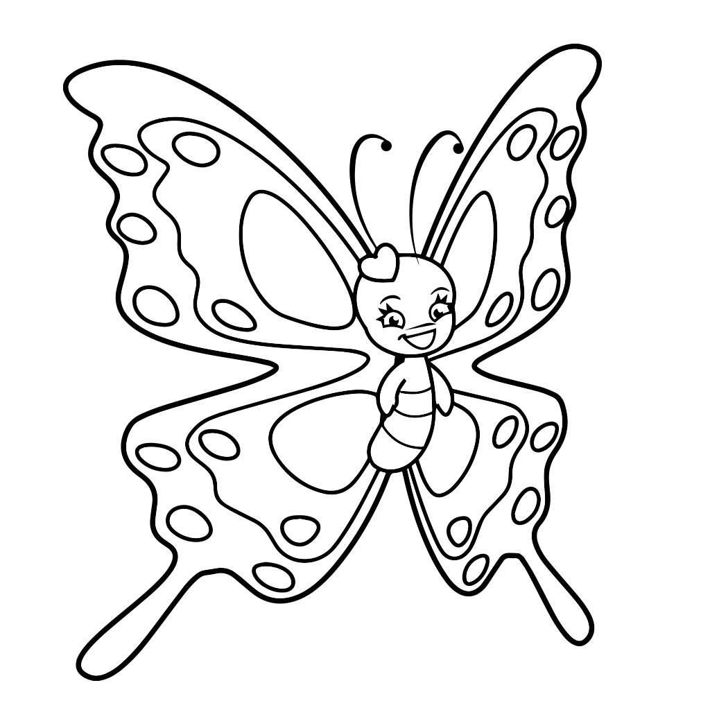 Butterfly Coloring Pages For Kids Android Iphone Ipad App Butterfly Coloring Page Coloring Book App Coloring Pages For Kids