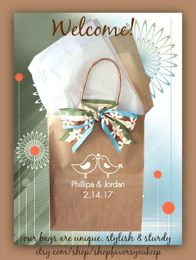 Welcome Bags Wedding Guests Wedding Welcome Bags Wedding Gifts