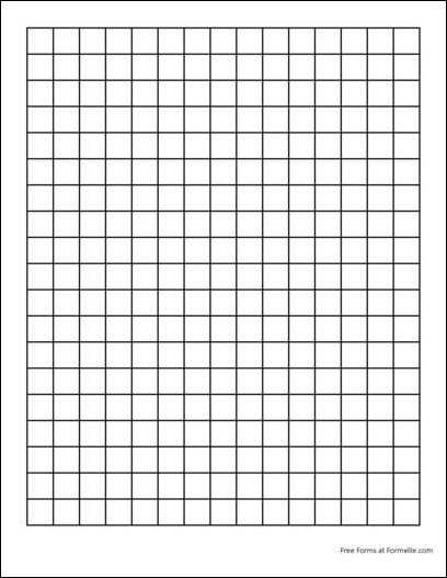 Free Graph Paper (2 Squares per Inch Heavy Black) from