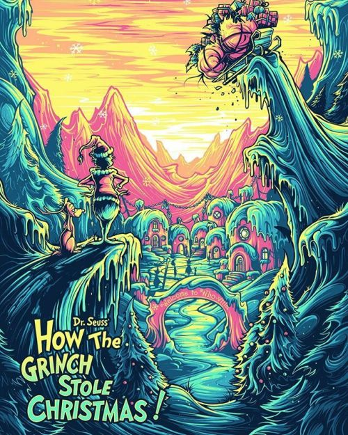 How The Grinch Stole Christmas 2020 Character Design How the Grinch Stole Christmas   Dan Mumford in 2020 | Dan mumford