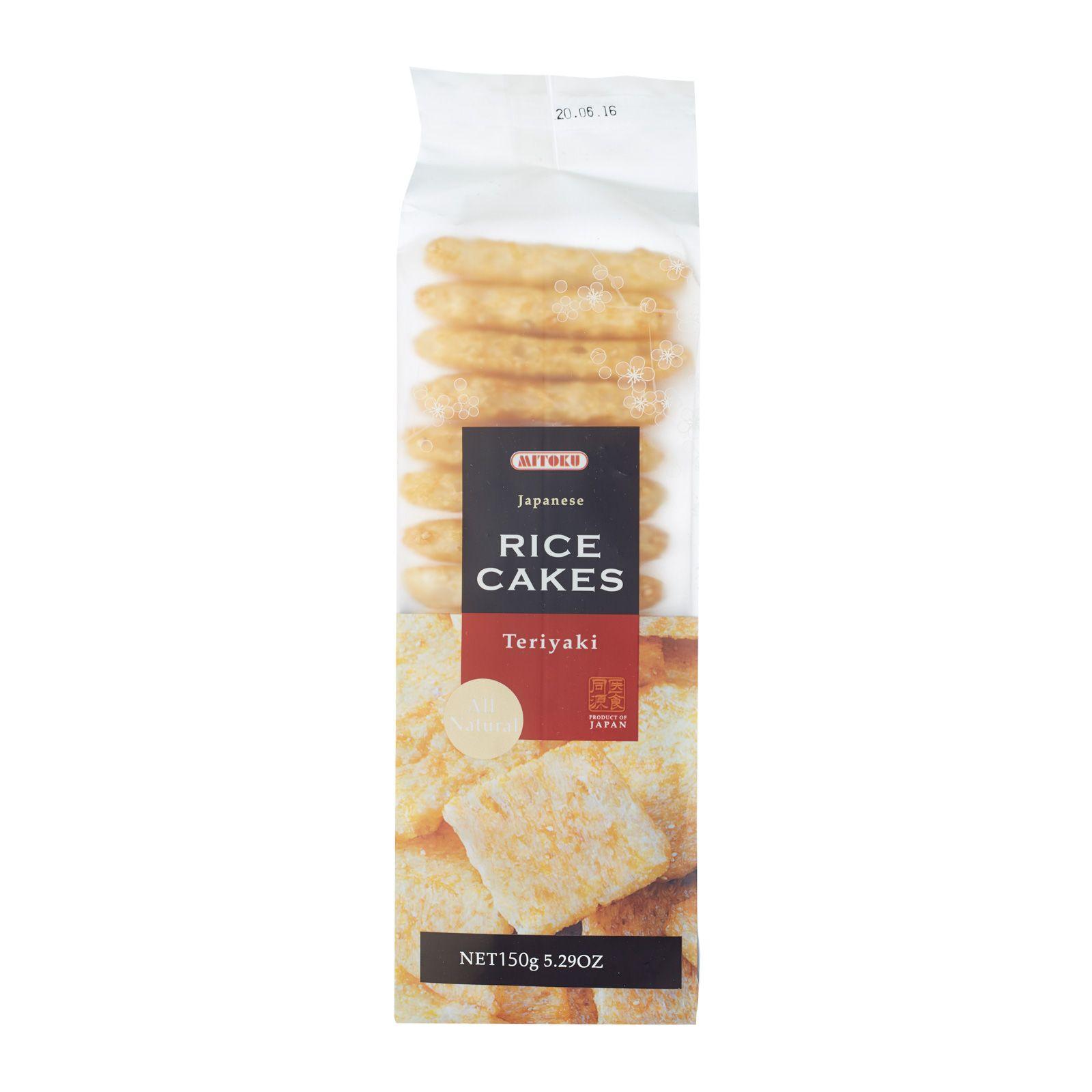 Mitoku Teriyaki Rice Cakes | RedMart