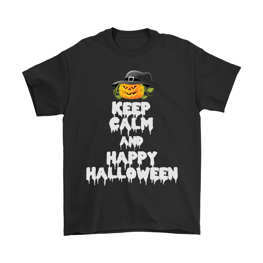 Donut need to overreact just keep calm and happy halloween take a