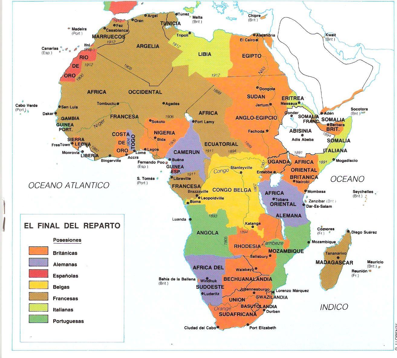 Mapas Del Colonialismo E Imperialismo Europeo Encyclopedia Online El Colonialismo Mapas Clásicos Mapas